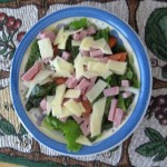 Low Carb Ham Chef Salad