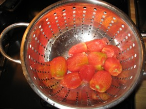 Peeled Roma Tomatoes