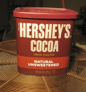 hershey's all natural cocoa powder
